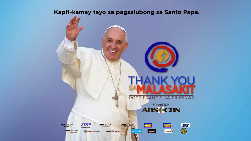 ABS-CBN brings multi-platform coverage for Pope Francis visit in PH