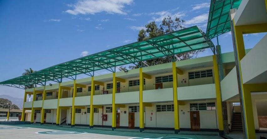 Inauguran nueva infraestructura del colegio César Abraham Vallejo Mendoza en la ciudad de Chepén - La Libertad