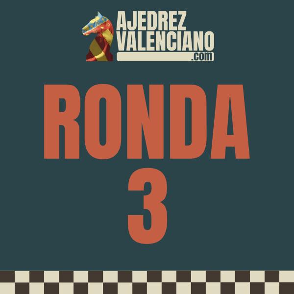 DISPONIBLES TODOS LOS RESULTADOS RONDA 3