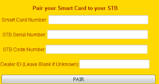 pairing mytv smart card to you decoder