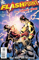 Flashpoint #5 by Geoff Johns, Andy Khubert, Sandra Hope, Jesse Delperdang, Alex Sinclair, Nick J. Napolitano, Jose Luis Garcia-Lopez, Rob Reis