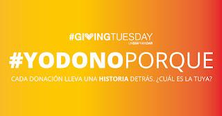 La cuarta edición del movimiento de solidaridad #GivingTuesday lanza el concurso #YoDonoPorque