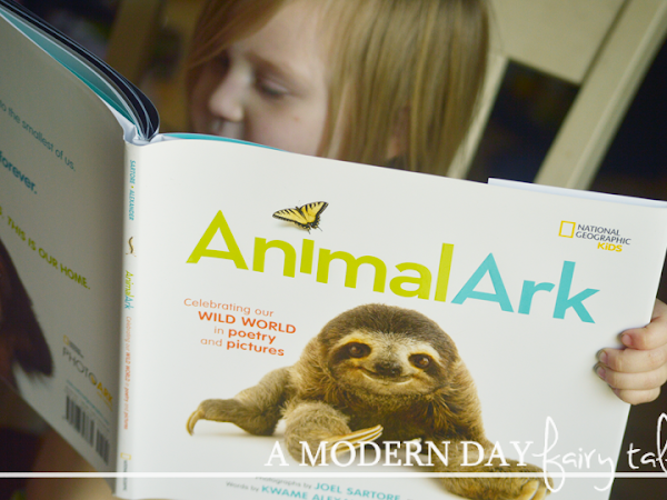 Celebrate Earth Day and Poetry Month with Animal Ark {A National Geographic Kids Giveaway}