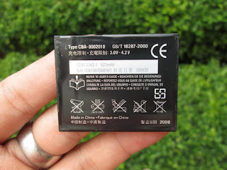 Baterai Sony Ericsson BST-39 Original 100%