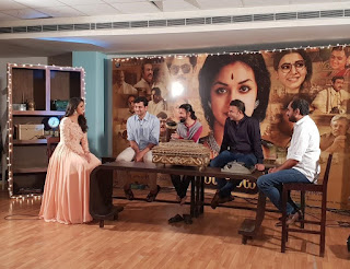 Keerthy Suresh with Mahanati Team Mahanati Success Meet