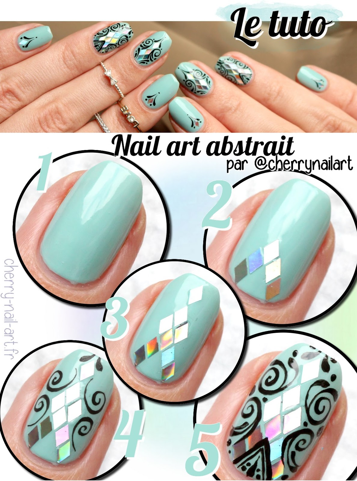 tuto-nail-art-paillettes-losanges-arabesques-abstrait-tanya-burr