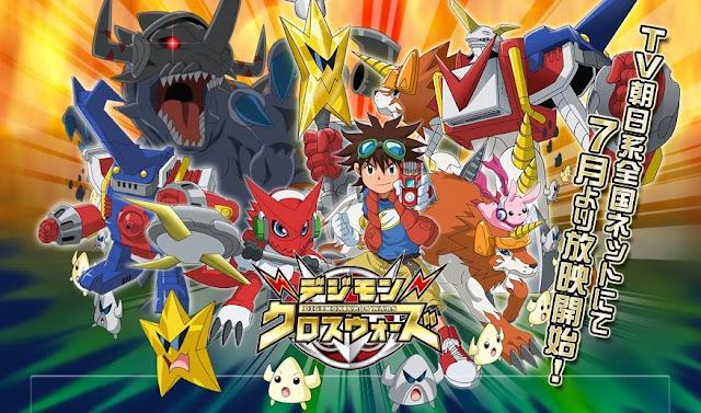 Digimon Xros Wars (Digimon Fusion) (54/54) (125MB) (HDL) (Latino) (Mega)