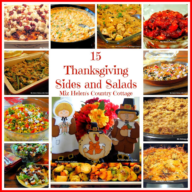15 Thanksgiving Sides and Salads at Miz Helen's Country Cottage
