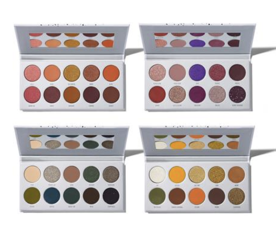 2c0cb4a8a78 Morphe and influencer Jaclyn Hill have teamed up yet again on a collection  of four palettes that are available to purchase individually or together as  a set ...