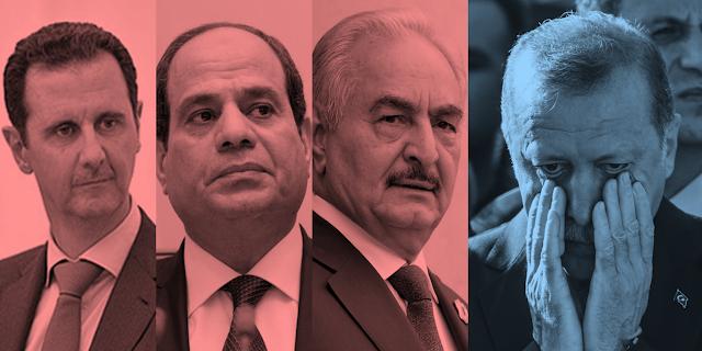 إنتصار الأسد.. نجاح السيسي إقتصاديا.. زحف حقتر.. وخسارة أردوغان في الإنتخابات !