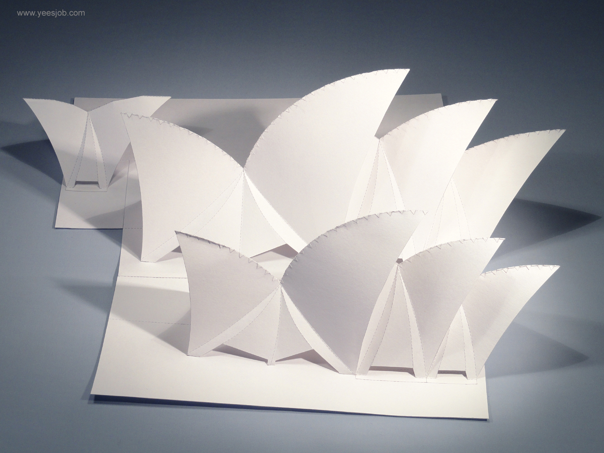 Decoration Interior And Exterior House The Kingdom Of Origami Architecture Sydney Opera Pop