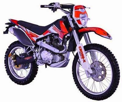 Harga Viar Cross X200 Spesial Edition