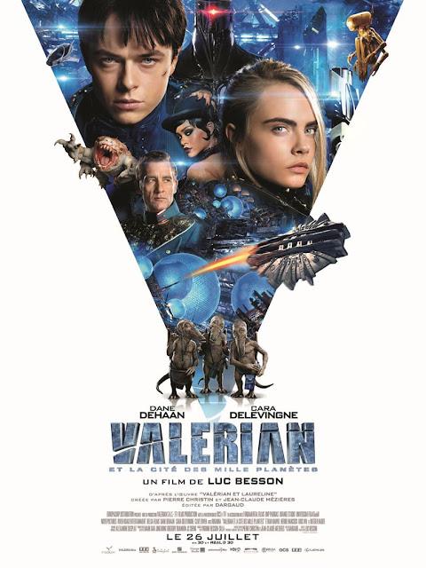 L'Agenda Mensuel - Juillet-Août 2017 Film Valérian et la Cité des Milles Planètes