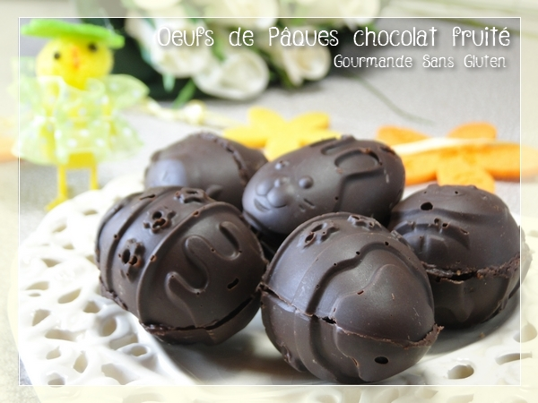 réaliser ses oeufs de Päques au chocolat
