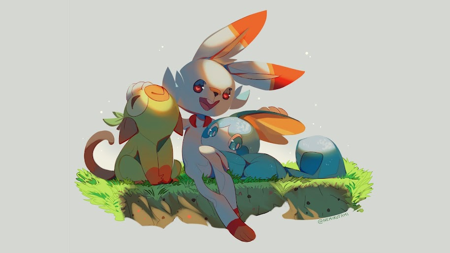 Scorbunny Grookey Sobble Pokemon Sword And Shield 4k Wallpaper 15 Tons of awesome republic of gamers wallpapers to download for free. scorbunny grookey sobble pokemon sword