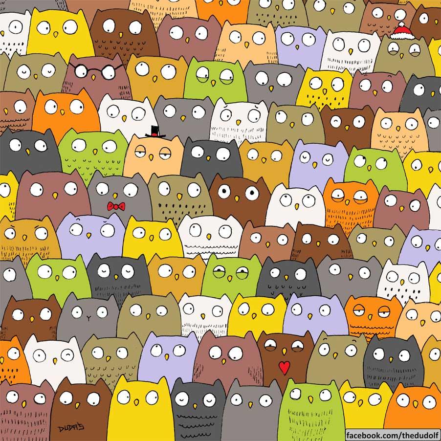 Reto Visual: ¡Encuentra al gato!