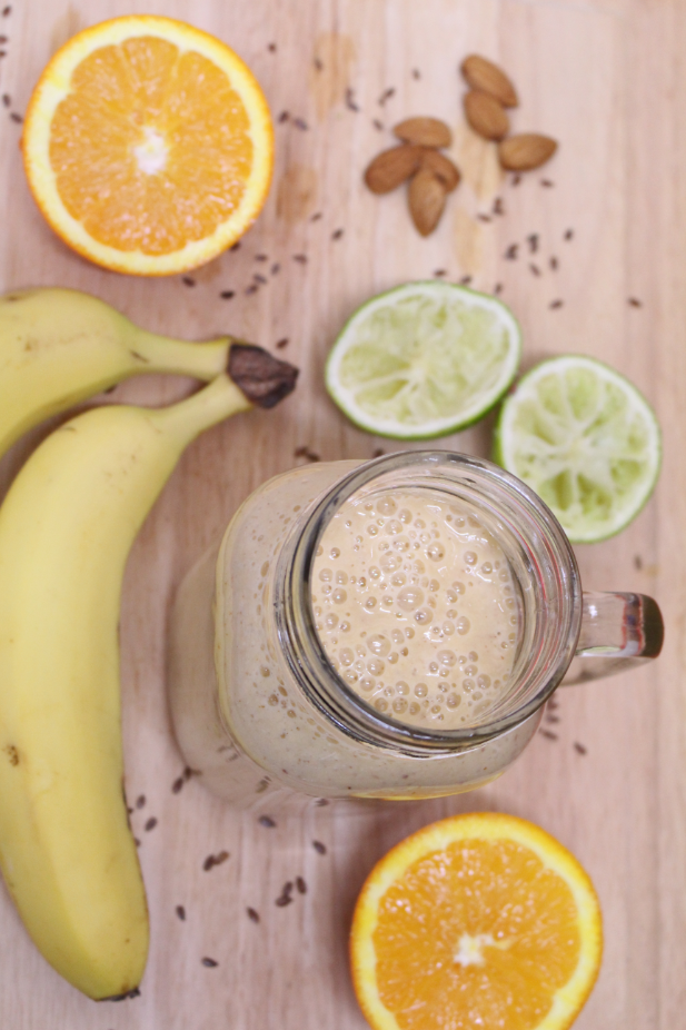 Banana and Citrus Smoothie