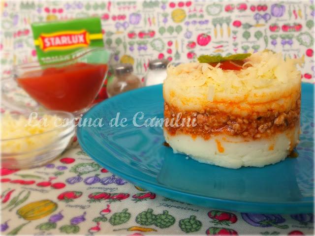 Pastel de carne y patatas 2 (La cocina de Camilni)