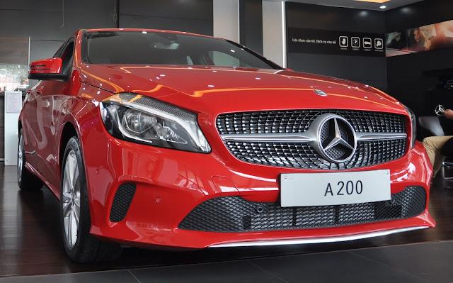 Giá xe Mercedes A200 2017 thực sự hấp dẫn