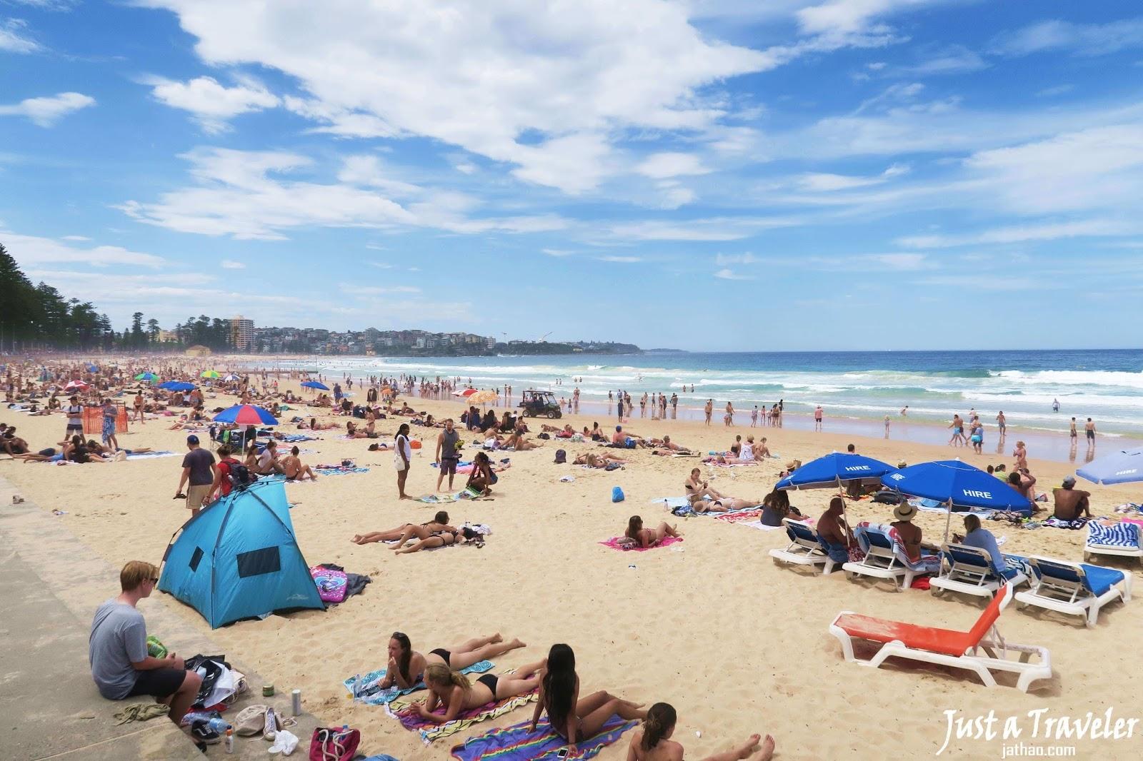 雪梨-景點-推薦-曼利海灘-旅遊-自由行-澳洲-Sydney-Manly-Beach-Travel-Australia