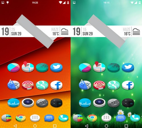A Gorgeous Theme For Android