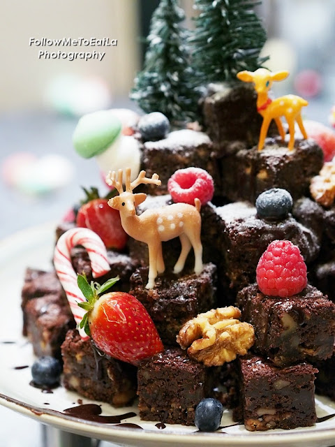 Traditional Christmas Brownies