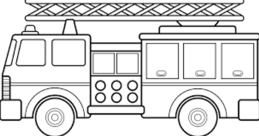 Mewarnai Mobil Pemadam Kebakaran Mewarnai Gambar Mobil Viewletterco