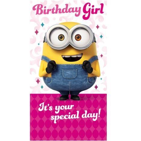 minion birthday girl wishes