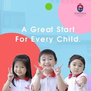 Pineapple Premier School Medan Sekolah Terbaik Untuk Anak Anda
