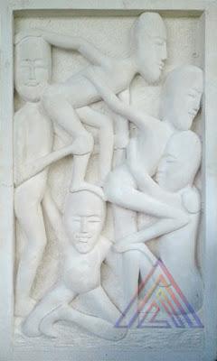 relief orang apstrak
