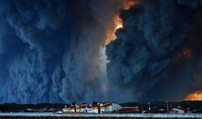 Incendios en Portugal