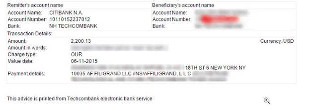 Affiligrand Payment Proof
