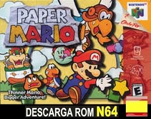 Paper Mario ROMs Nintendo64 Español