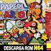 Roms de Nintendo 64 Paper Mario  (Español) ESPAÑOL descarga directa