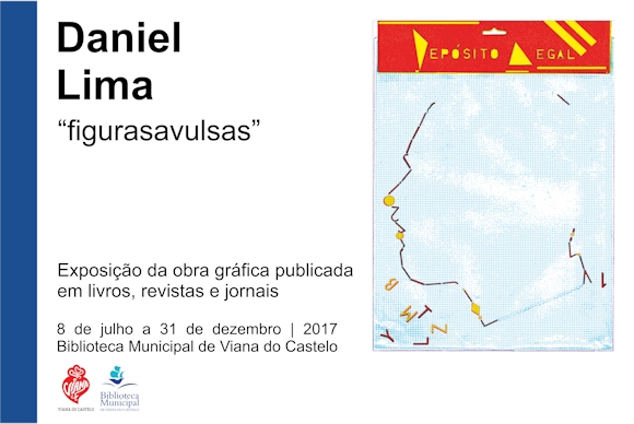 "Exposição - ""DANIEL LIMA – figurasavulsas"""