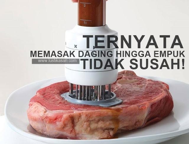 membuat daging menjadi empuk