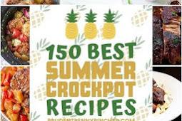 #150 #BEST #SUMMER #CROCKPOT #RECIPES