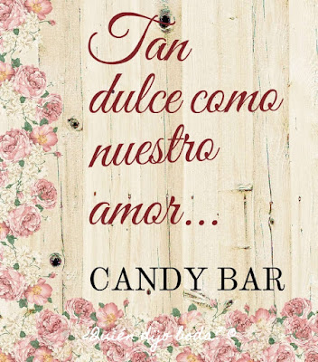 Cartel para candy bar
