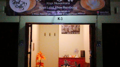 """Hadir di Pituruh """"Joe Coffee"""" Sajikan Sensasi Kopi Lelet Asli Rembang"""