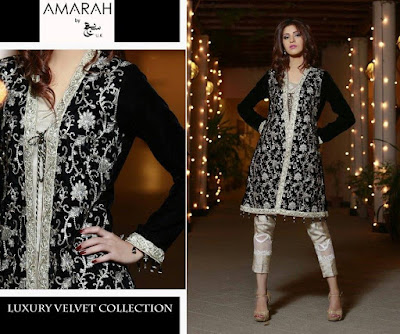 amarah-luxury-winter-velvet-dresses-collection-2017-by-sajh-dhaj-6
