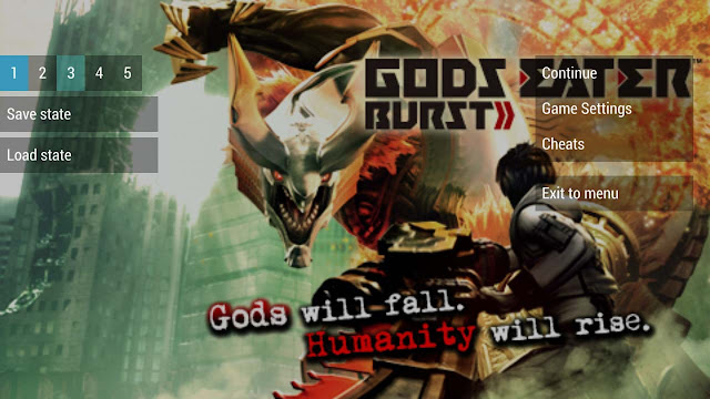 save data god eater psp state emulator