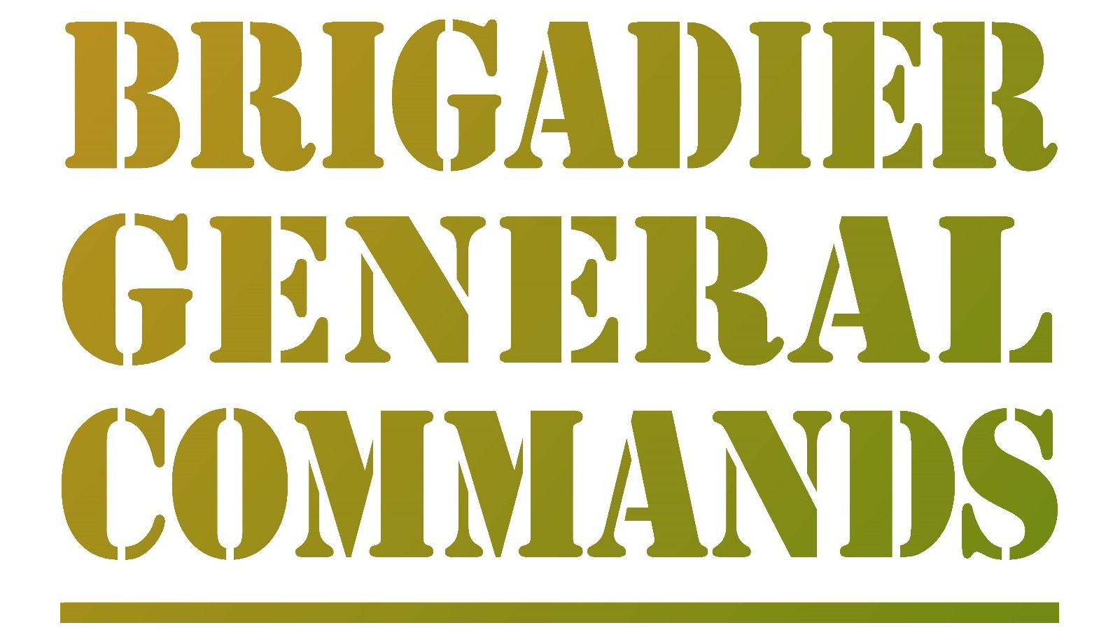 Brigadier General Commands