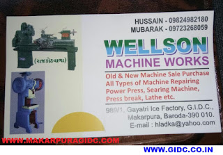 WELLSON MACHINE WORKS - 9824982180