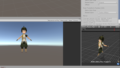 SD Chinese Character Game Rigged by Blender and Unity