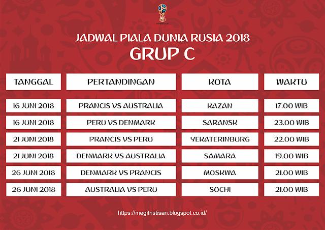 Jadwal Piala Dunia