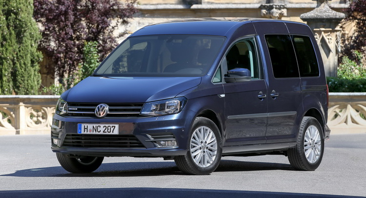 New Vw Caddy Tgi Is The First Van To Combine Natural Gas