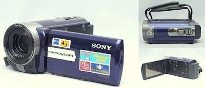 Handycam bekas Sony DCR-SX65e