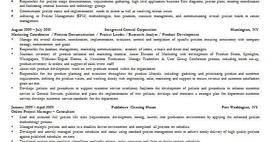it program sample resume format in word free download