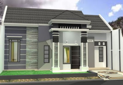 model atap rumah type 36 mini