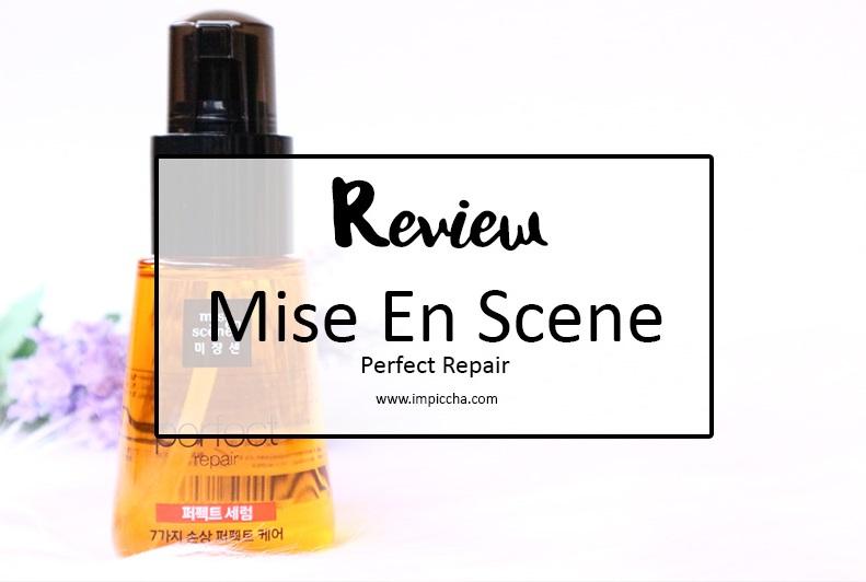 Review mise en scene perfect repair im piccha for Mise en scene photo